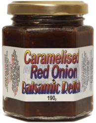 Caramelised Red Onion & Balsamic Relish  | 190g